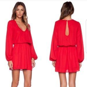 Show me your mumu | red dress | Sz S